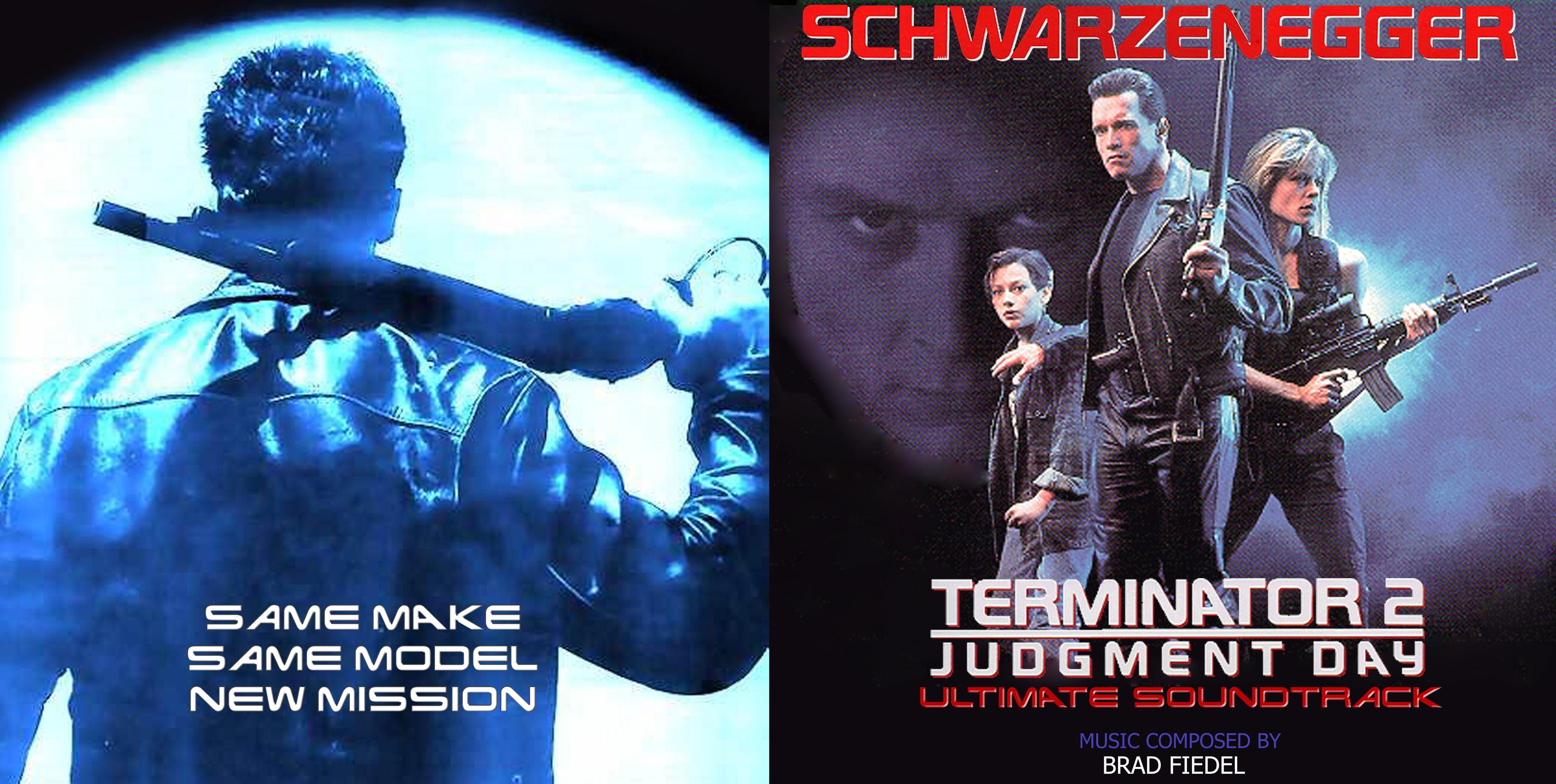 The Terminator (Original Soundtrack) (CD, Album) | Discogs  |The Terminator 2 Cover