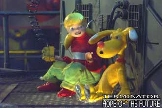 hope of the future terminator robot chicken series references